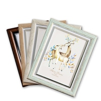 В европейском стиле ретро Стиль разноцветный фоторамки fotolijst на возраст от 5 до 12 лет, дюйма Пластик рамка для фотографий прекрасные рамки дл...