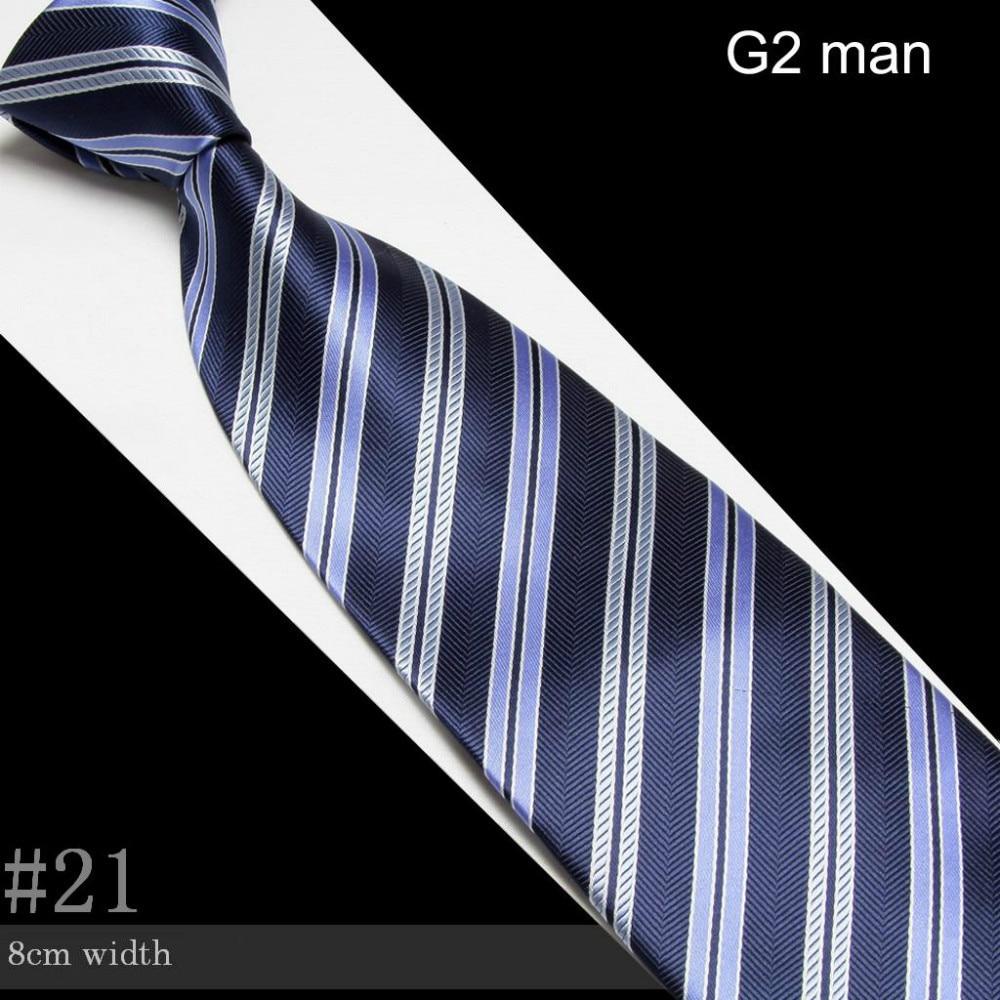 Stripe Neck Ties for Men Polyester Fashion Tie Business Party Wedding Adult Necktie