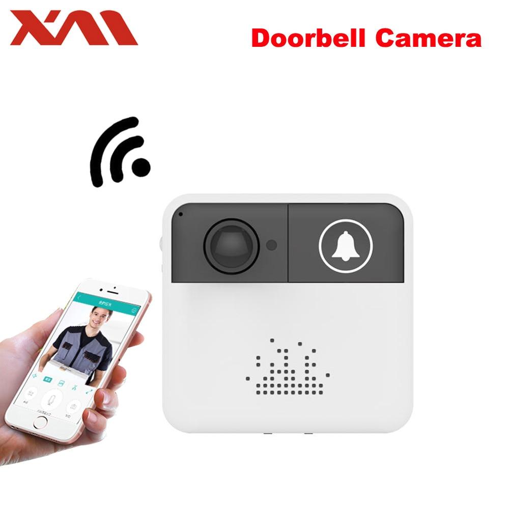 Мини беспроводной WiFi видео дверной звонок камера дверной звонок монитор смарт-камера видеодомофон домофон/аудио бесплатное приложение ...