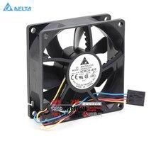 Pour delta QFR0812UH 9CWCH-A00 12V 0.87A 8CM 4 fils PWM ventilateurs de refroidissement contrôle de vitesse
