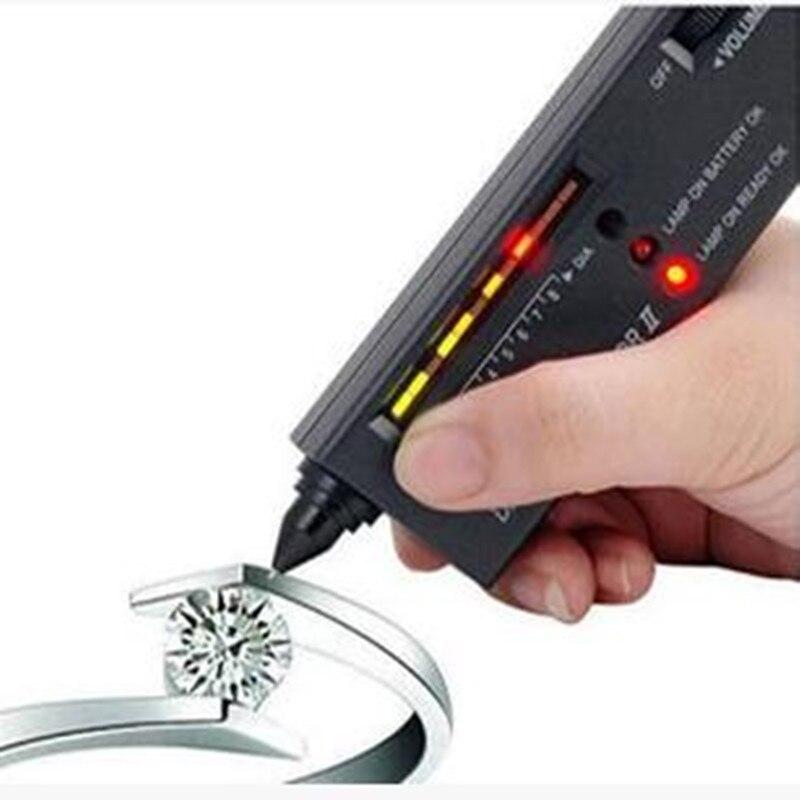 Бесплатная доставка, Алмазный Селектор II, тестер драгоценных камней, Алмазный тестер, ручка для алмазного тестирования, ручка для твердости, алмазный детектор, драгоценный камень детектива