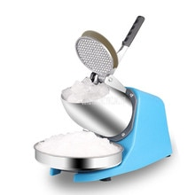 Small Mini Household Electric Automatic Ice Crusher Machine Maker For DIY Dessert Ice Cream Machine Sorbet Fruit Juicer Maker
