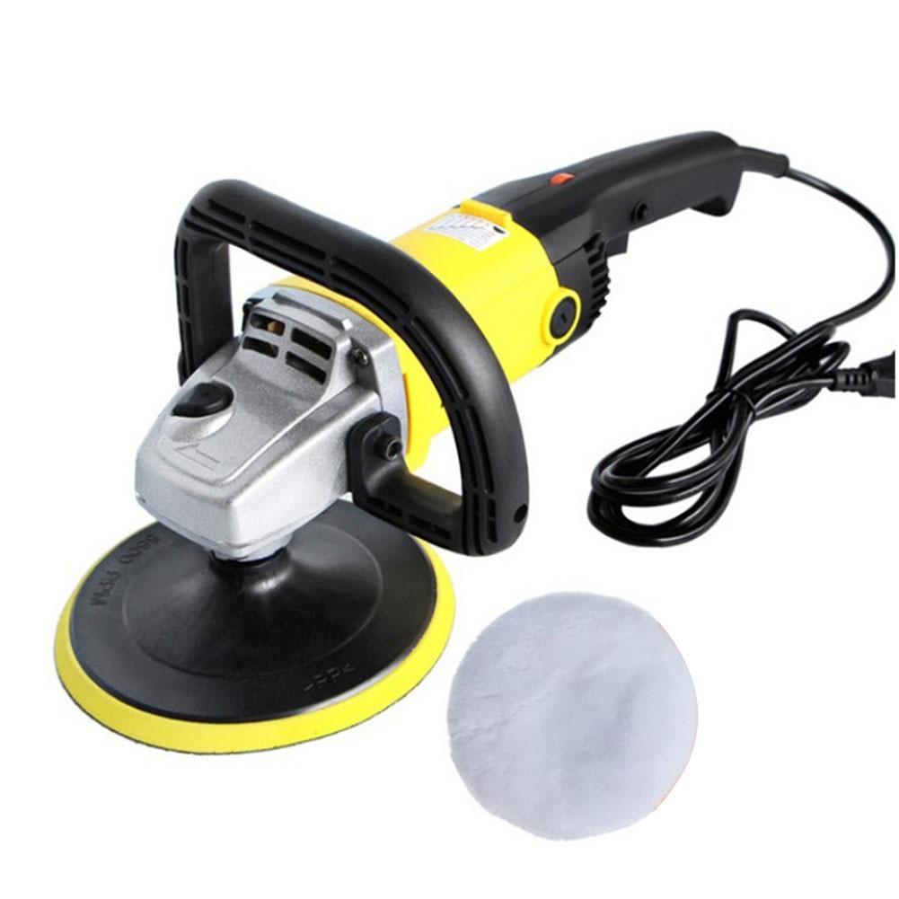 Car Polisher 220V Variable Speed Car Paint Care Tool Polishing Machine Sander Electric Floor Polisher