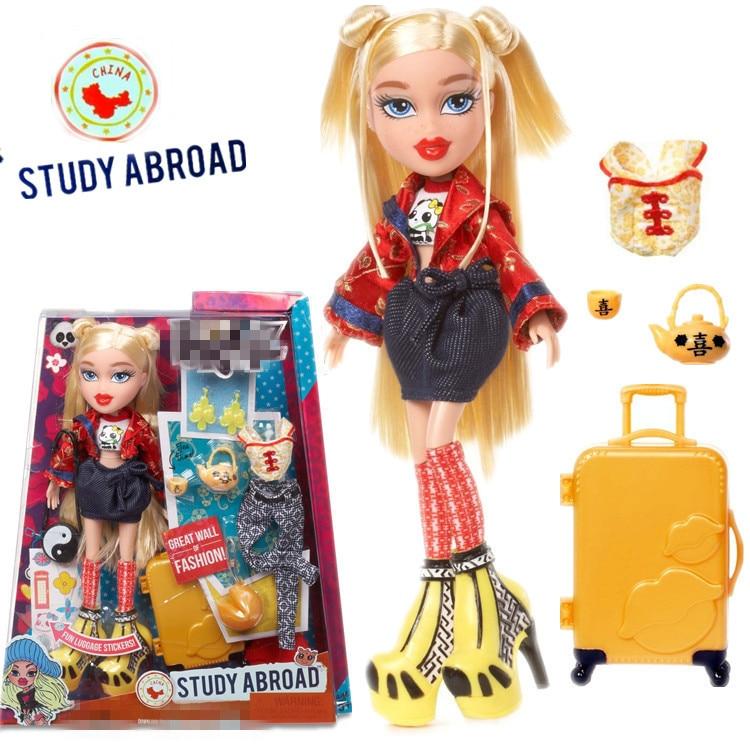 Bratz Study Abroad Doll- Cloe to China girl Play house toys girl's gift birthday present