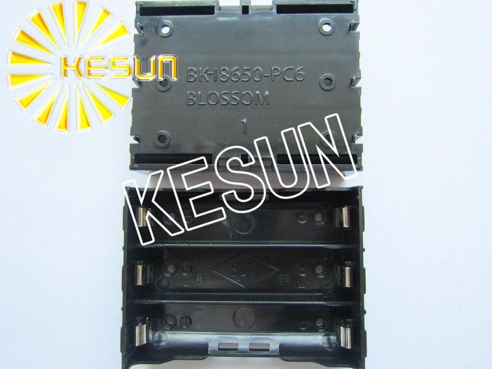 Envío Gratis 5 uds x 11,1 V soporte de toma para batería para 3x18650 Célula de litio
