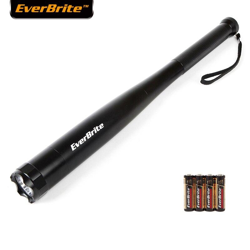 Everbrite светодиодный фонарик в виде бейсбольной биты 2000 люменов летучая мышь фонарь для чрезвычайных ситуаций и самообороны безопасности кем...