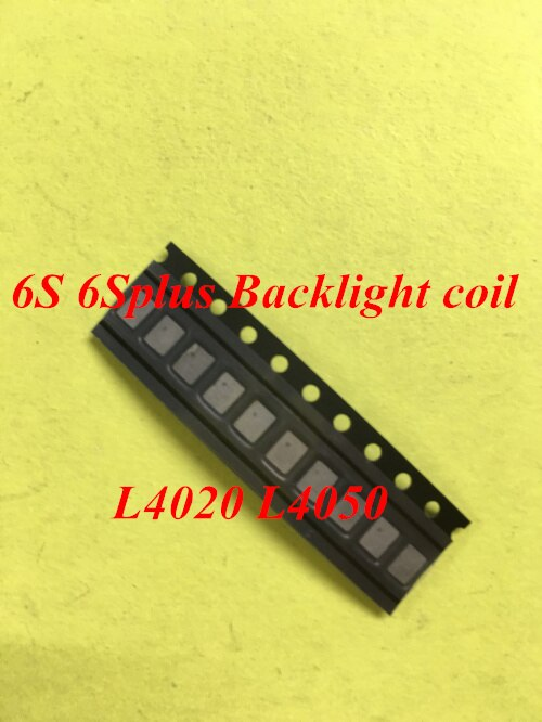20 unids/lote Original luz trasera fija bobina para iPhone 6S 6s Plus retroiluminación boost Coil L4020 L4050
