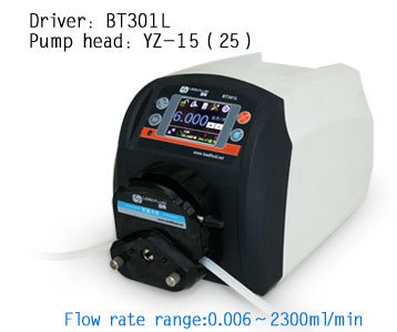BT301L YZ25 Intelligent peristaltic pump Water Liquid Industry Laboratory Flow Control Pump 0.16-990 ml/min