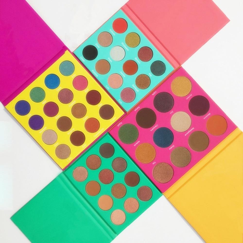 GIVENONE 6/12/16 цвет макияж для глаз Nudes палитра матовые тени для век Палитра Блестящий Порошок Тени для век затеняющие тени штамп пигмент