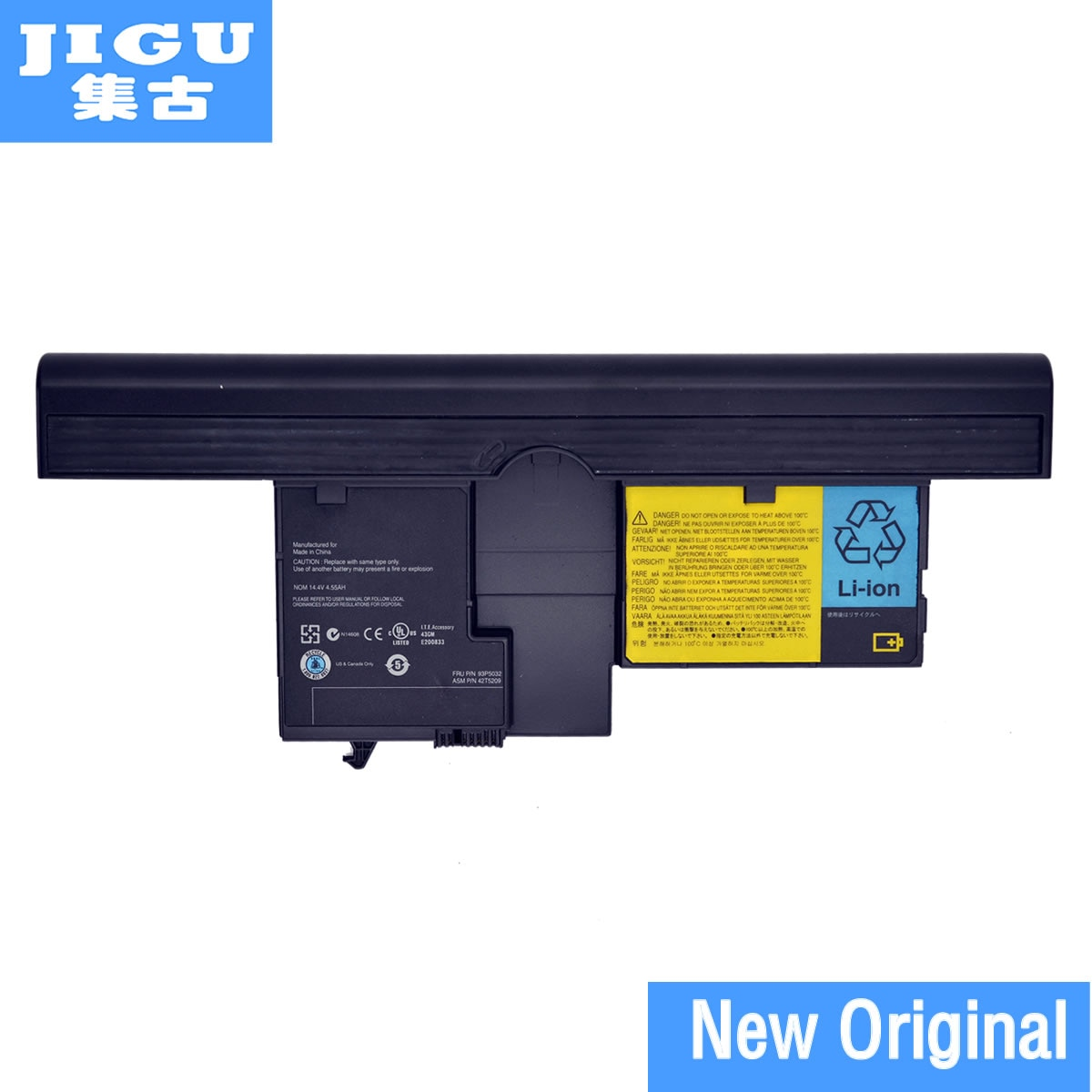 JIGU 40Y8314 40Y8318 42T5209 42T5204 42T5206 42T5208 Original laptop Batterie Für Lenovo für ThinkPad X60T X61T X60 X61 Tablet PC