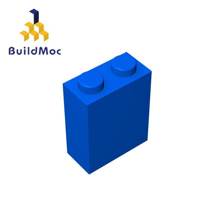 BuildMOC Compatible con partículas de ensamblaje 3245 1x2x2 para bloques de construcción DIY LOGO educativo juguetes de repuesto de alta tecnología