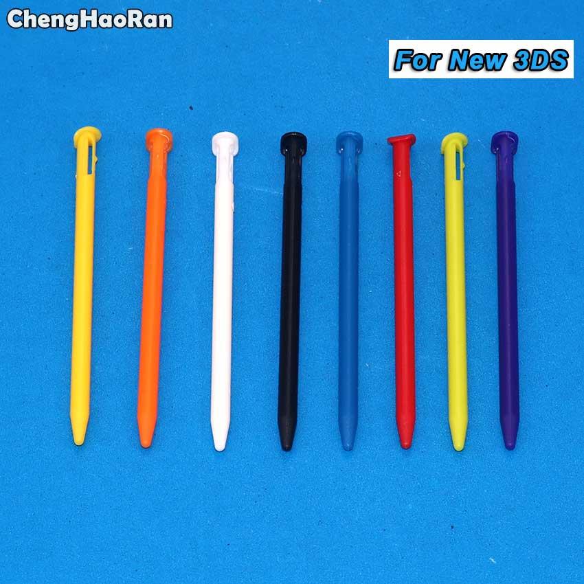 ChengHaoRan, bolígrafo de plástico Stylus con pantalla táctil multicolor para N3DS, bolígrafo metálico Lápiz de pantalla táctil para Nintendo New 3DS