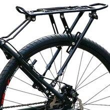 Satış promosyonu bisiklet bisiklet bisiklet arka raf taşıyıcı MTB Pannier bagaj taşıyıcı raf yeni