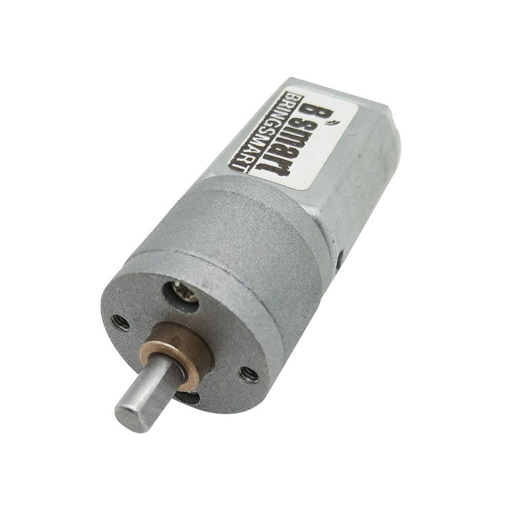 Wholesale 6-12v JGA20-130 Gear Motor 12-288rpm-No Load Dc Reversible Engine 6V Brushled Dc Motor D Shaft  For Common Use