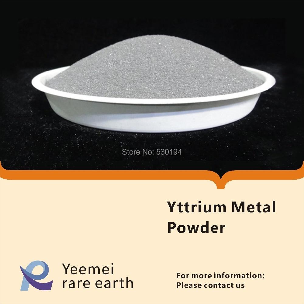 Rare earth metal powder-- 99.99% Yttrium metal powder