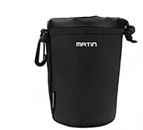 Envío Gratis Matin neopreno impermeable suave Cámara lente bolsa tamaño de la Caja (M) para canon nikon sony lente