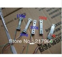 5 pièces X jauge de contrainte capteur de pression capteur déchelle électronique de cellule de charge 100g 150g 200g 300g 700g g