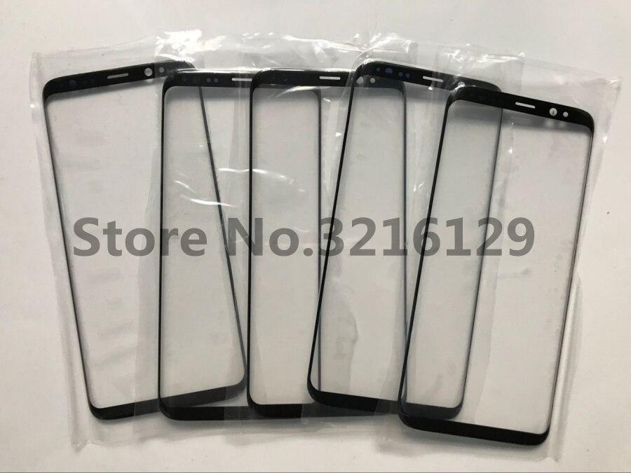 10 шт./лот передняя внешняя стеклянная линза сенсорный экран для Samsung Galaxy s8 s7 s6 s9 S10 S20 NOTE 8 9 10 Запасные части для ремонта