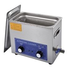 1 pièce AC110/220 v 180W nettoyeur à ultrasons 6L 40KHZ industrie chauffé nettoyeur à ultrasons chauffage minuterie nettoyeur Machine