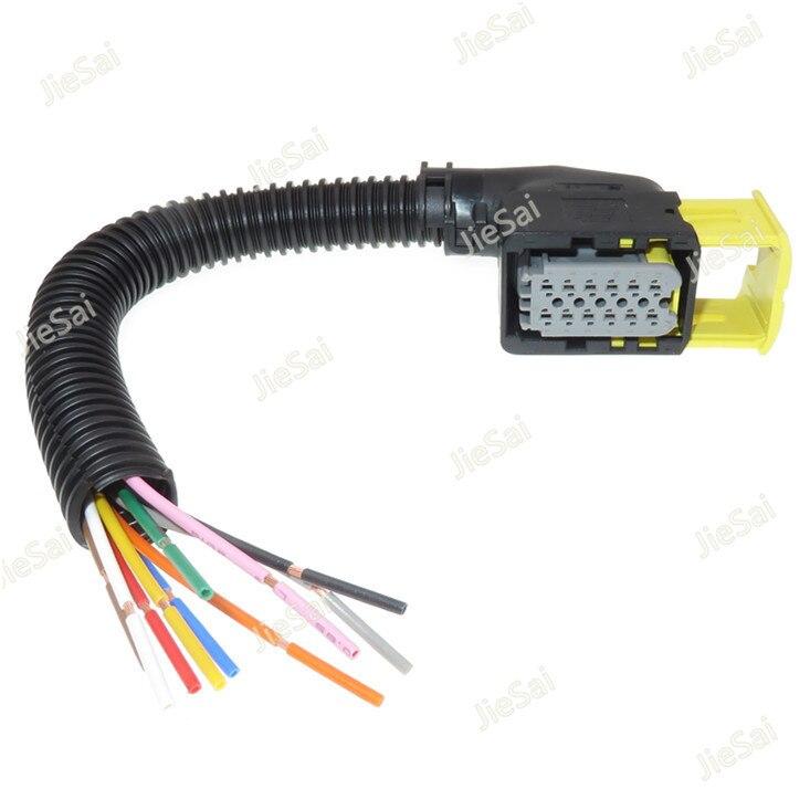 1 piezas 12 pines 2-1703639-1 Conector de Sensor de bomba de Urea automática 1-1545277-1 Coche enchufe de Cable con arnés de cableado