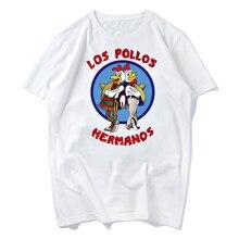 LOS POLLOS Hermanos men T Shirt Chicken Brothers 2019 hot sale summer Breaking Bad Shirt men t-shirt fashion raglan tee s-xxxl