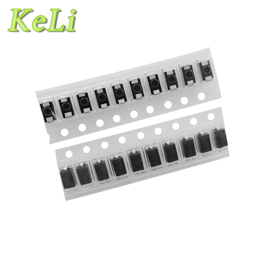 Compra gratis 1000 piezas 1n5822 sma smd do-214ac diodo Schottky ss34