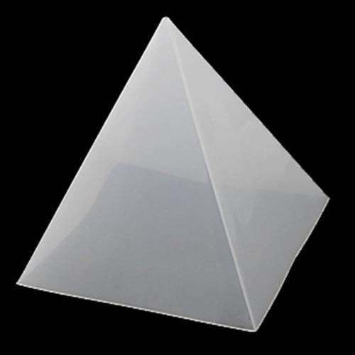 Geometric Jewelry Pendant Pyramid Making Tools Mold Silicone Resin Craft DIY 2# 10*15cm