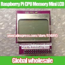 라즈베리 파이 cpu 메모리 미니 lcd 84*48/pcd8544 쉴드 라즈베리 파이 모델 b +/b