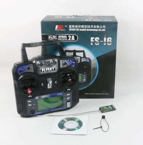 Радиоприемник Flysky FS-i6 AFHDS 2A 2,4 ГГц 6CH