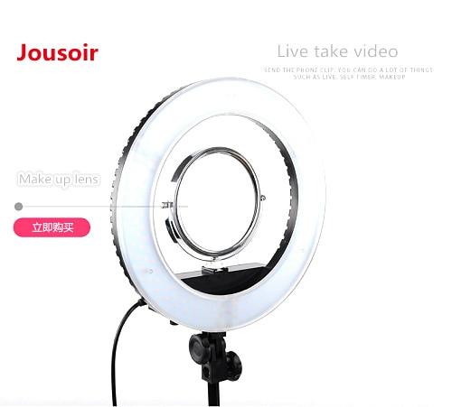 14 inch LED photographic lamp, circular lamp, Taobao live direct lighting, main body, beauty skin, skin lift, face lift CD15