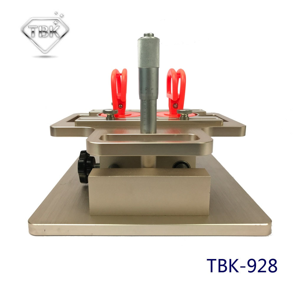 TBK-928 LCD desmonte la Máquina Manual a-frame separador para Samsung ajuste preciso por micrómetro