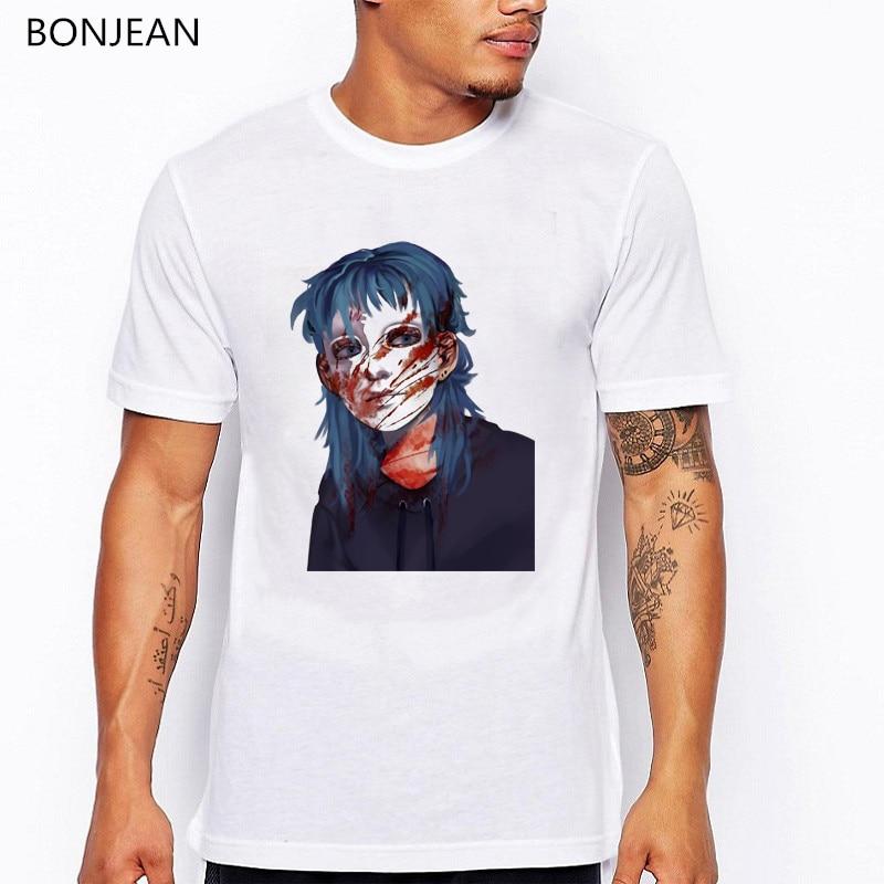 Camiseta Sally face para hombre, ropa estética grunge para hombre, camiseta personalizada para fans, camiseta de verano para hombre, camiseta blanca, Camisetas geek