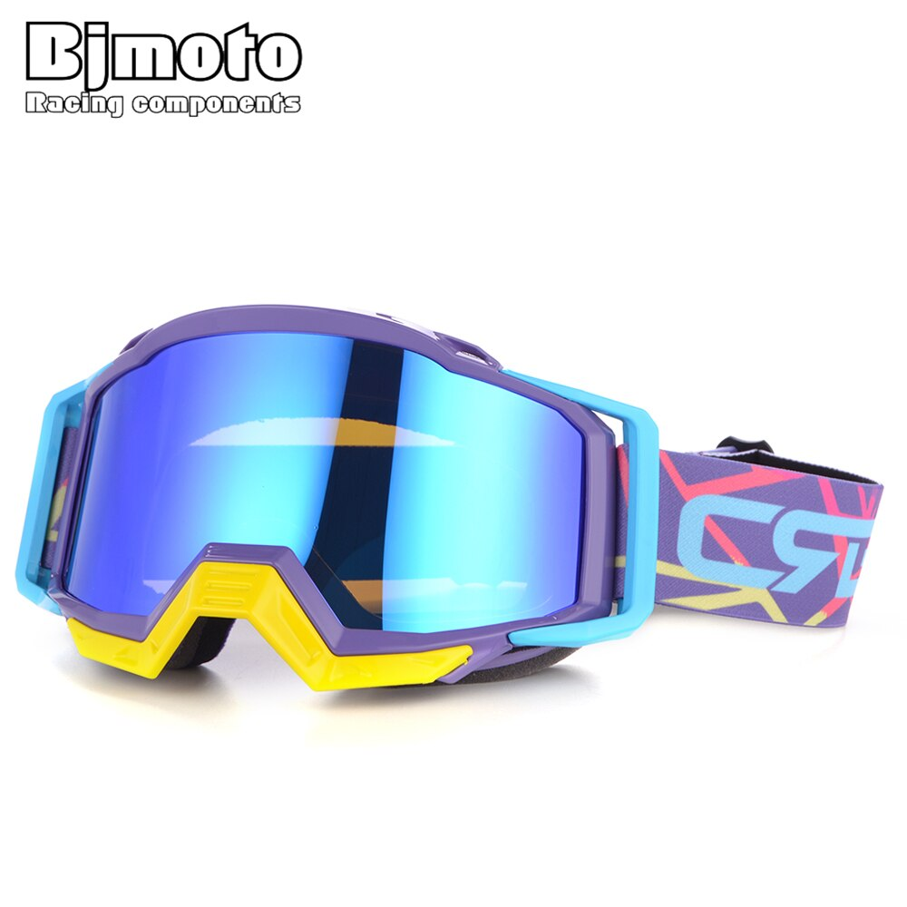 BJMOTO 2019 New Wan Women Oculos MX Motocross Goggles Offroad Dirt Bike Motorcycle Helmets Google Ski Glasses Sport Gafa enlarge