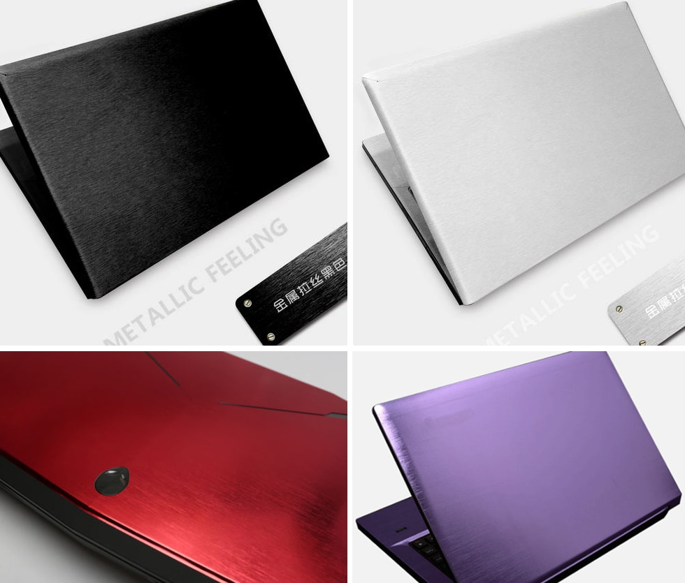 "KH especial Laptop cepillado Glitter Sticker cubierta de piel Protector para Lenovo Yoga 900-13 MultiTouch 13,3"""