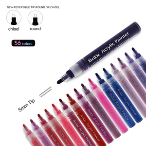permanent marker, acrylic paint marker pens for Glass, Stone, Wood, Fabric, Metal, Ceramic, Rock