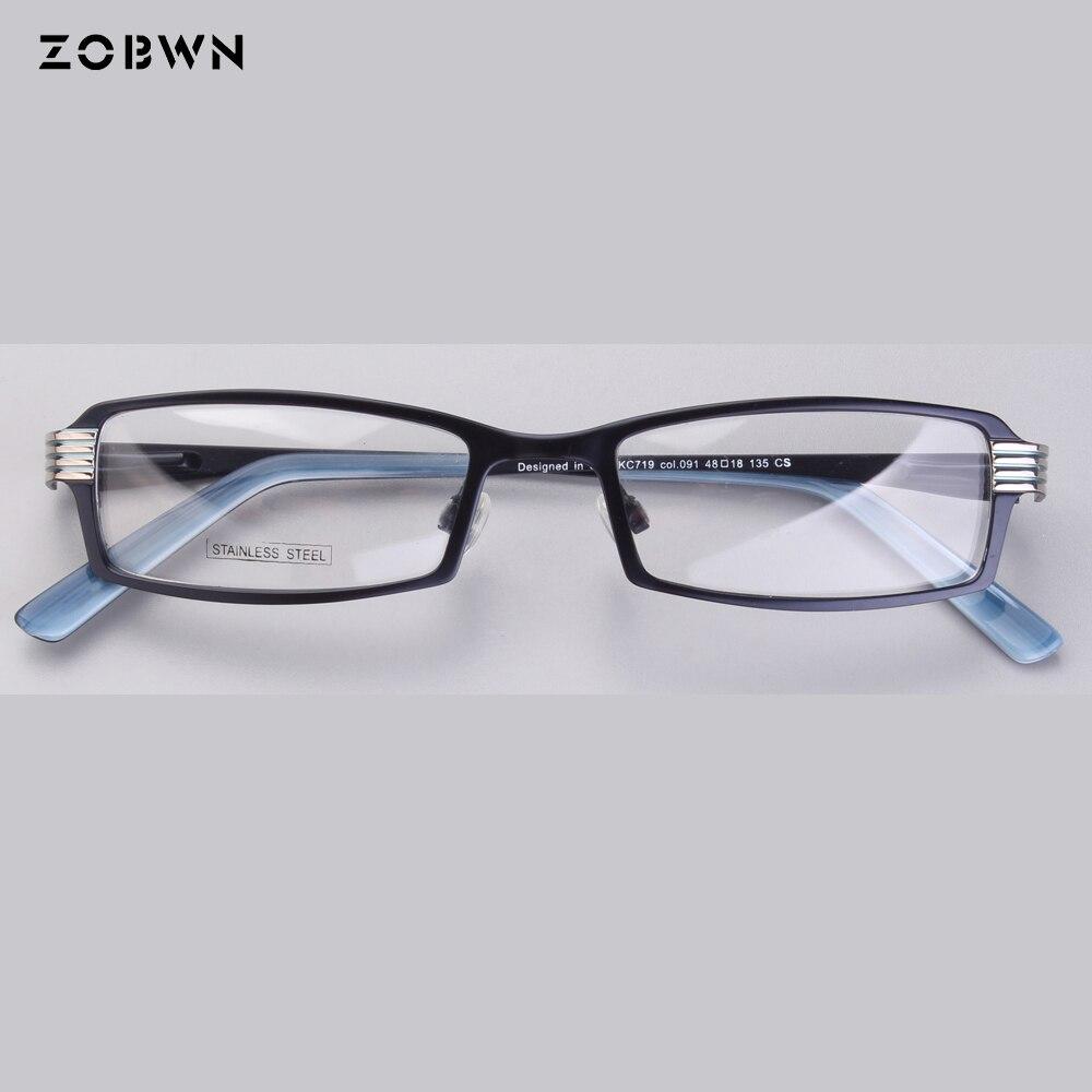 Montura de gafas de moda para hombres y mujeres, gafas de óptica para miopía, monturas de 2018 para niños, moldura de cuadrado