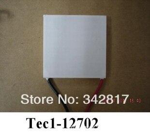 TEC1-12702 refrigerador termoeléctrico Peltier DC12V 2A 40*40*3,9mm TEC1 12702 5 piezas