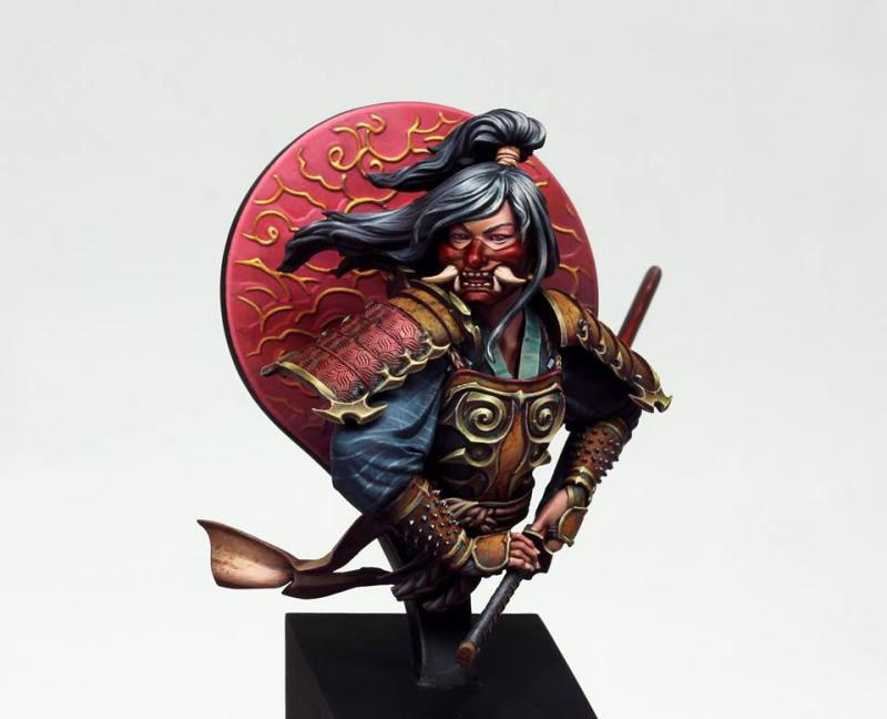 1/10 busto resina figura modelo kit unassembled sem pintura//bust319