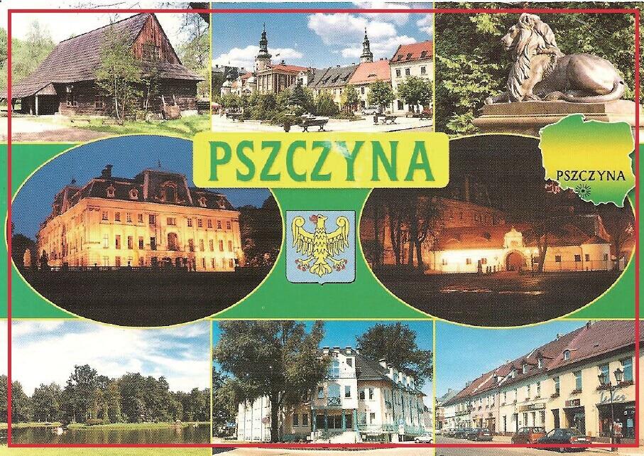 Декоративный подарок магниты для Фото 78*54*3 мм, Польша Pszczyna открытки магниты 20369 жесткая пластина туристические воспоминания