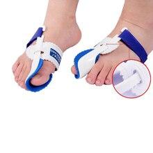 Big Toe Bunion Gerät Foot Pain Relief Hallux Valgus Nacht Fußpflege Schiene Haarglätter Toe Separator Corrector Daumen Orthesen