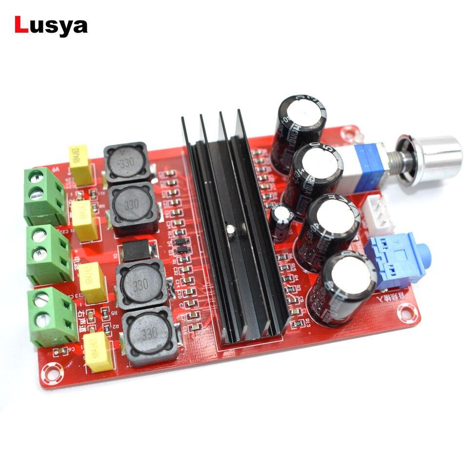 XH-M190 TDA3116D2 Digital Audio Power Amplifier 100W+100W 2.0 Stereo Class D HIFI amplificador audio DC 12V 24V  D3-007
