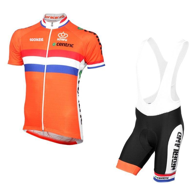 Pro Team-Ropa de Ciclismo para hombre, jersey de secado rápido con bandera...