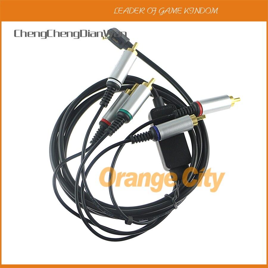 ChengChengDianWan 10 stücke Original RCA TV Video Kabel Kabel Für PSP 3000/2000 AV Kabel für PSP HDTV TV Video Component kabel