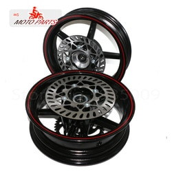 Furo de 15mm 2.75-12 polegadas dianteiro & 3.50-12 bicicleta traseira do poço da bicicleta da sujeira 12 polegadas roda de vácuo aro dianteiro e traseiro freio disco ainwheels