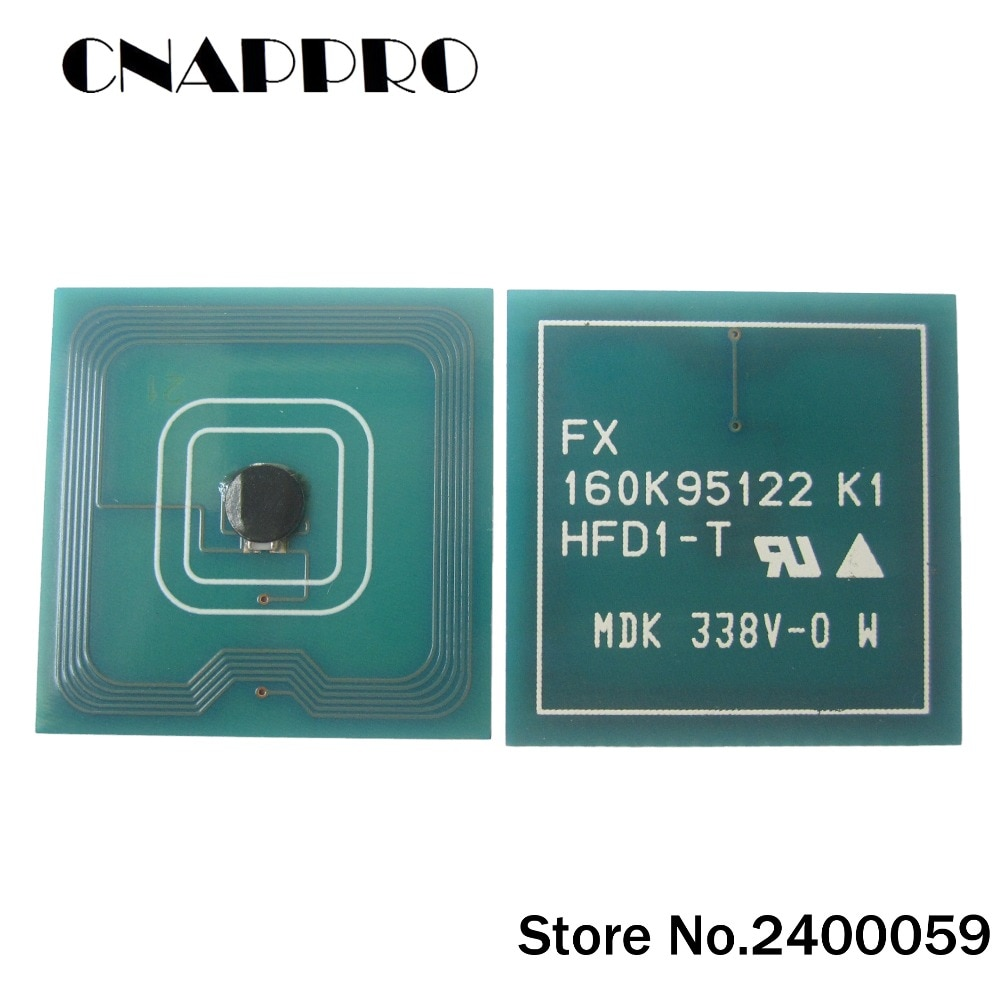 4х чип для картриджа с тонером DocuCentre 156 186 1055 1085 для Fuji Xerox DC156 DC186 DC1055 DC1085, чип с тонером с сбросом CT200401