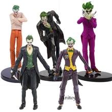 DC Batman The Joker Arkham PVC Action Figure Sammeln Modell Spielzeug 14-18CM KT107
