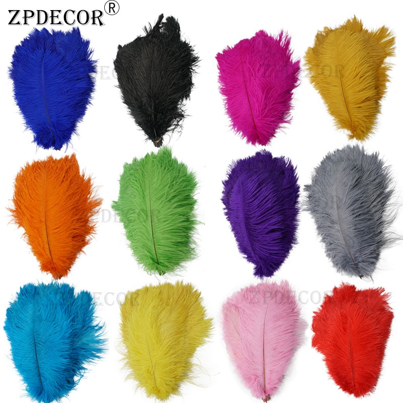 AliExpress - 12-14 Inch 30-35CM  Frist-Grade Ostrich Feathers for DIY Jewelry Craft Making