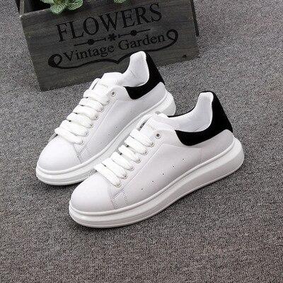 Primavera novo designer cunhas branco sapatos plataforma feminina tênis feminino tenis feminino casual femalesoes woman35 -- 44 tamanho