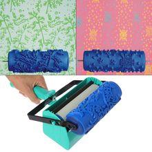 Machine de peinture de peinture de décoration de mur de Double couleur pour loutil de brosse de rouleau de 7 pouces