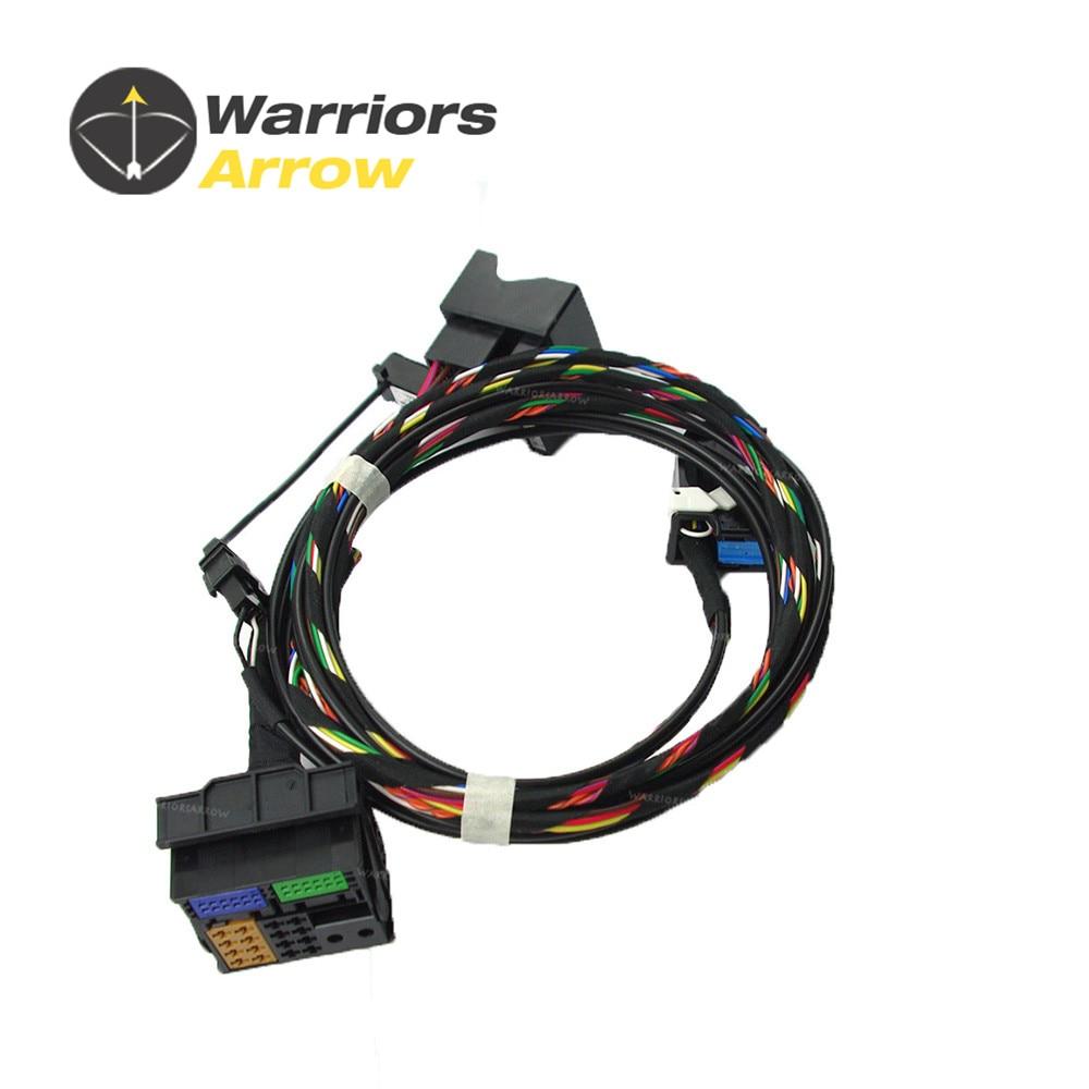 1K8035730D для VW RCD510 9W2 9W7 9ZZ автомобильный Радио Bluetooth модуль прямой разъем беспроводной микрофонный кабель
